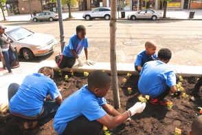 Roselle Comes Together for Community Clean Up Day, photo 38