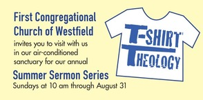 Sermon Series Tries on T-Shirts for Spiritual Size, photo 1
