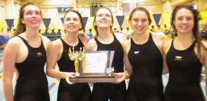 It's a Swimming Dynasty: Chatham Girls Win Fourth Straight State Public B Title, photo 3