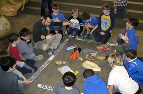 Cubs Scouts from Pack 98 in Scotch Plains