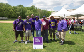 Omega Psi Phi Fraternity Participates in the American Cancer Society Relay for Life in Paterson, N.J., photo 1
