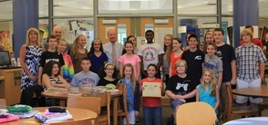 Sparta Middle School Student Council Met with Rodney Frelinghuysen