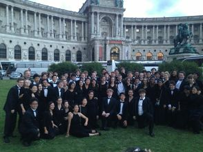 New Jersey Youth Symphony in Vienna