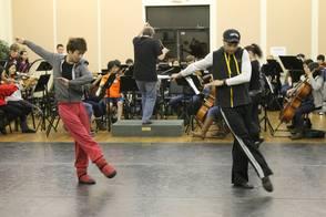 NJ Ballet rehearses with NJYS
