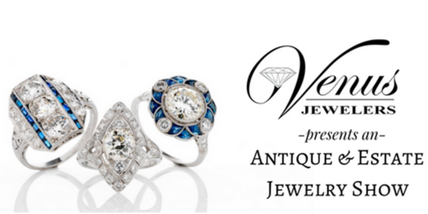 Franklin Township Venus Jewelers To Host Estate And Antique Jewelry