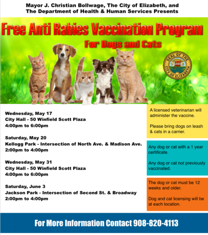 Free Rabies Shots For Cats In Nj