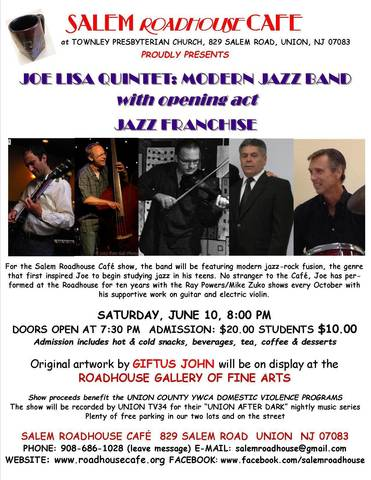 Joe lisa quintet modern jazz elizabeth nj news tapinto for Modern house quintet