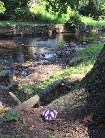peace rocks along the third river   nutley nj news   tapinto
