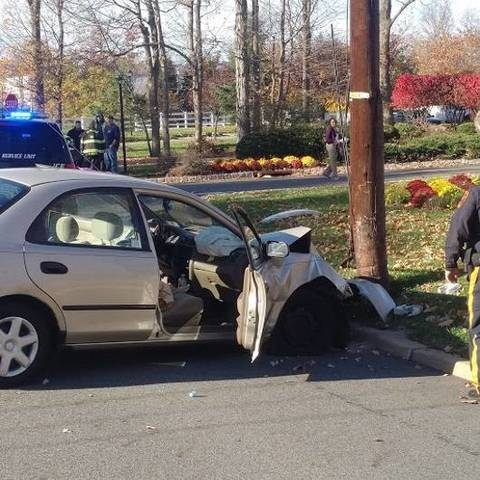 Police Investigate Fairfield Crash That Hospitalized West