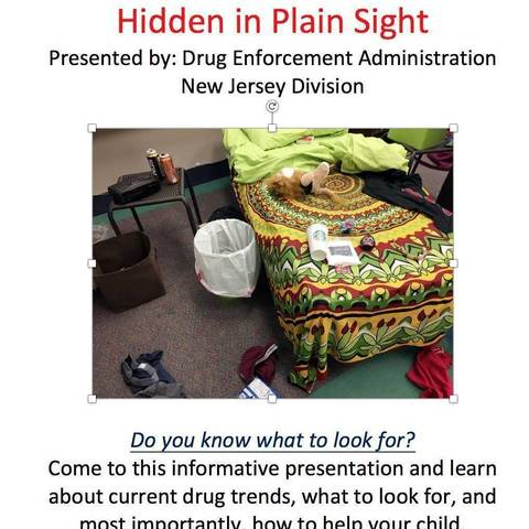 Hidden in Plain Sight' - Information About a Teen's Bedroom