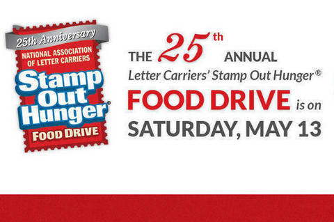 national association of letter carriers postal carriers stamp out hunger in the 23746