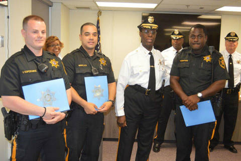 Camden County Office of the Sheriff honors officers   TAPinto