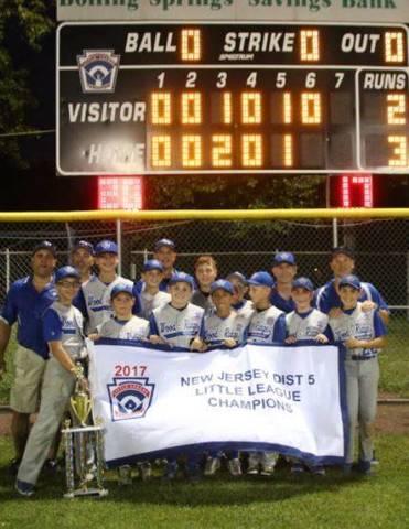 4edaa97a9 Wood-Ridge Moonachie Little League 12-Year Old All-Stars Capture District 5  Championship