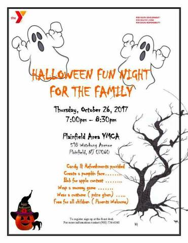Plainfield Ymca S Halloween Fun Night Tapinto