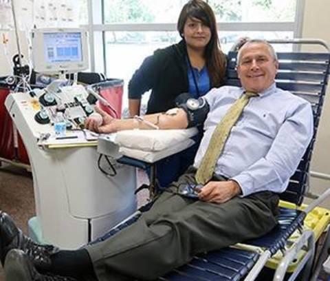 Sen. Kip Bateman Hosts Blood Drive at Somerville Hospital
