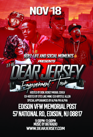 The ChangeMakers Radio Show Invites some Talent from: Dear Jersey: The ...