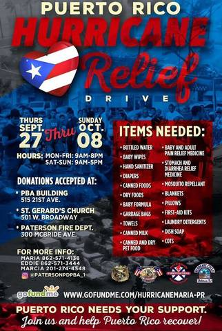Paterson First Responders Collecting Supplies for ...
