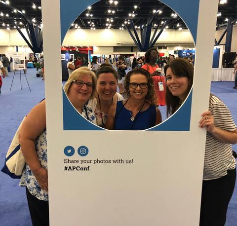 Several Union Catholic Faculty Members Attended AP Conferences