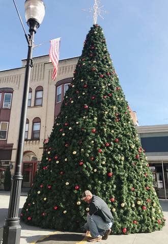 Somerville Christmas Tree Decorated, Wrapped in Lights, Ready for Santa's  Magic Touch - TAPinto - Somerville Christmas Tree Decorated, Wrapped In Lights, Ready For