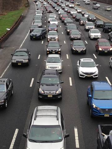 Update Morning Crash On Garden State Parkway Causing Extensive Delays In Clark Cranford And