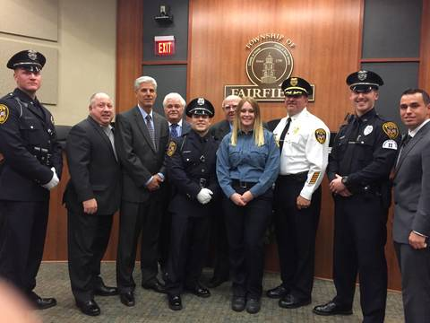 Fairfield Police Department Welcomes Four New Officers and