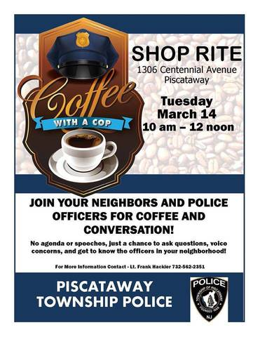 Coffee With A Cop Tapinto