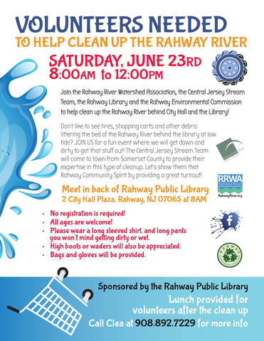 Rahway Community River Cleanup TAPinto