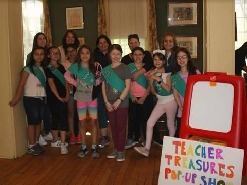 girl scout troop 20202 appreciates nutley teachers tapinto