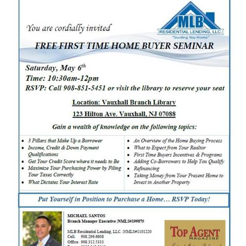 First Time Home Buyers Seminar | TAPinto