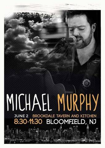 Michael murphy to headline at brookdale tavern and kitchen for The brook kitchen and tap