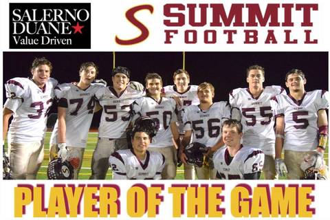 Salerno Duane Jeep >> Hilltopper 'O-Line' Named Salerno Duane Summit Football Players of the Game - News - TAPinto