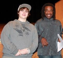 Famed Artist Willie Cole Visits Sparta High School, photo 15