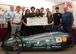 LHS Eco-Lancers receive Donation