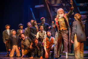 David Garrison (Fagin) and the Company of Oliver!