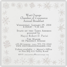 West Orange Chamber of Commerce Announces Annual Breakfast, photo 1