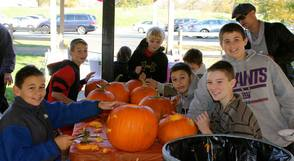 "Pearly Whites ""Brought Smiles"" To Pumpkin Carving Event, photo 10"