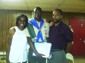 Eagle Scout Nathaniel Hawkins