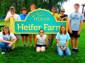 Summer Service Project Trip to Heifer Farm