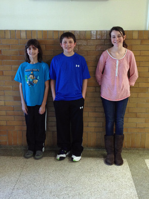 GCMS February Students of the Month
