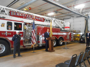 Sen. Cory Booker and Rep. Leonard Lance Visit Berkeley Heights To Present $185,360 Federal Grant For Firefighter Assistance, photo 20