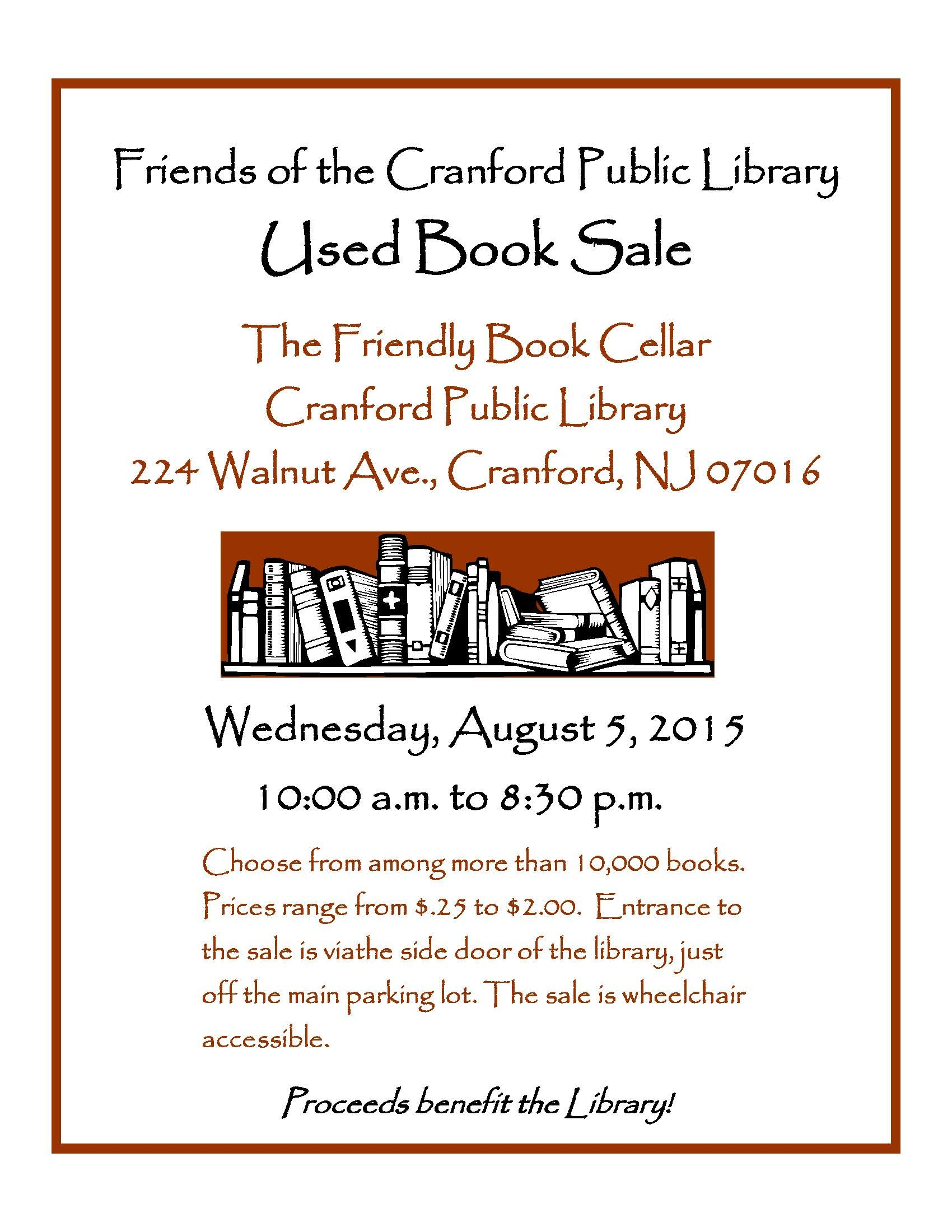 a8d01047b34d6245f2a2_Friends_of_the_Cranford_Library_August_Book_Sale.jpg