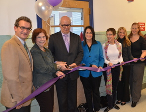 Photo from the Recent Ribbon Cutting Ceremony for the New Therapeutic Preschool Program at CPNJ, which Just Received a Grant of $5,000 Via Investor's Bank to Complete the Project