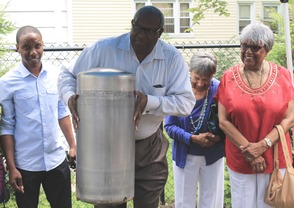 Roselle Community Joins Dr. Polk Family and Plants Time Capsule, photo 10