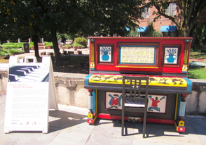 Outdoor Pianos Stage Return to South Orange, photo 1