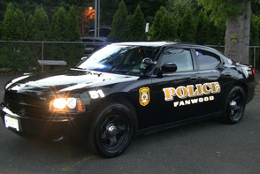 Fanwood Police Car at National Night Out