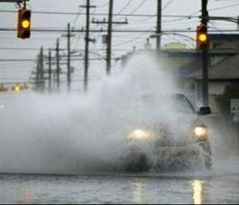Barnegat Ave. Flooded in LBI, photo 2