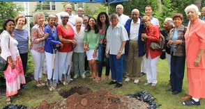 Roselle Community Joins Dr. Polk Family and Plants Time Capsule, photo 29
