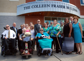 UNION COUNTY DEDICATES NEW MULTI-USE BUILDING IN HONOR OF COLLEEN FRASER, NATIONAL DISABILITY ADVOCATE KILLED IN 9/11 ATTACKS