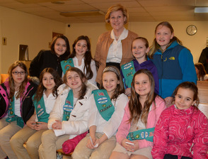 Girl Scout Week in Fanwood