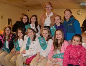 Girl Scout Week in Fanwood